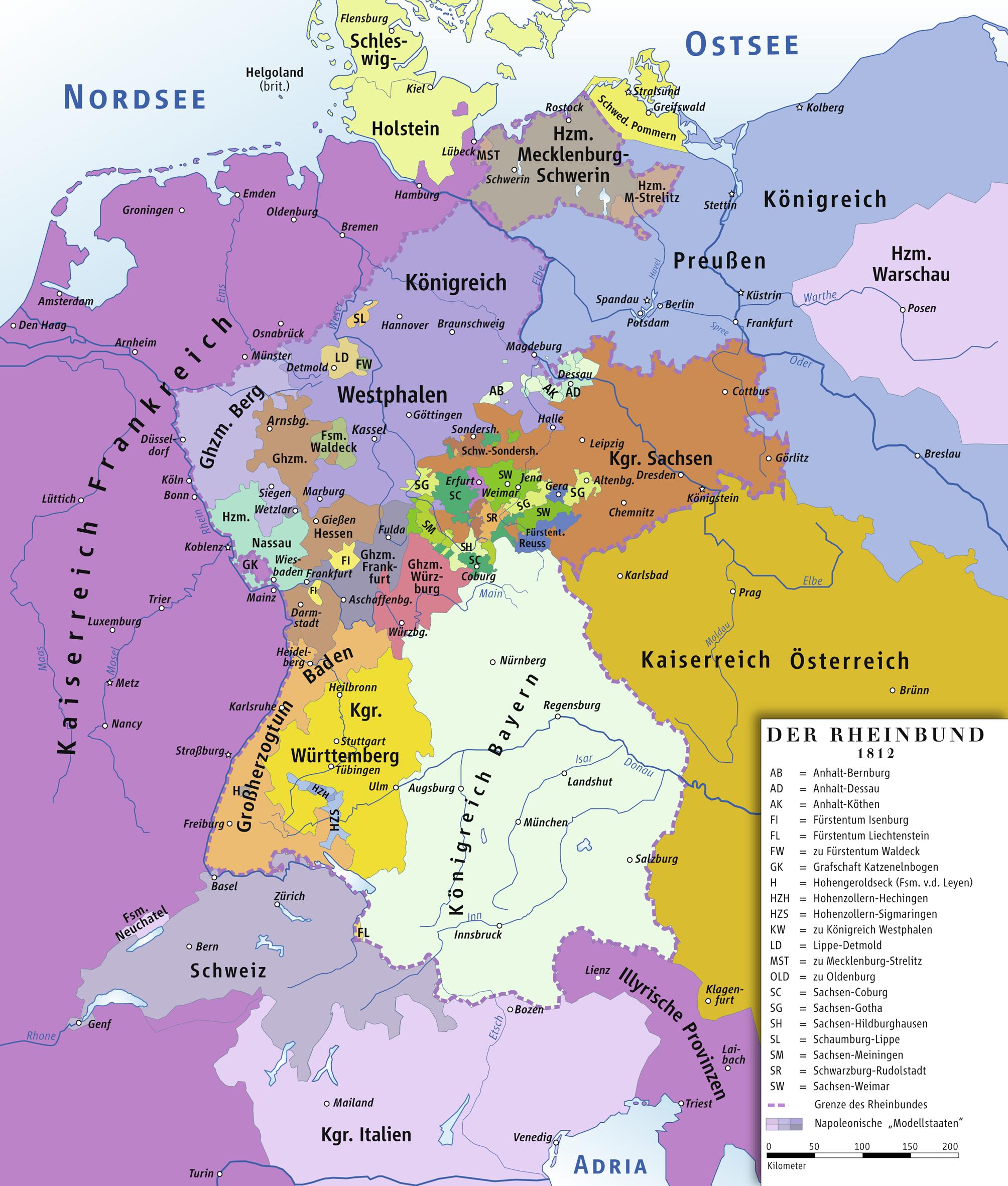 Rheinbund_1812