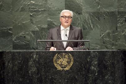Steinmeier vor UN, 27.9.14